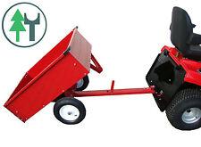 Anhänger NG-R für Rasentraktor Aufsitzmäher ATV Quad Kleintraktor, Rasenmäher