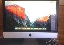 " Apple iMac 21.5"" Core 2 Duo  3.06ghz with Keyboard & Mouse Warranty  "