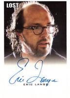 "LOST Seasons 1 thru 5 Premium Autograph Trading Card Eric Lange ""Stuart"""