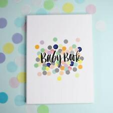 NEW Rhicreative Special Edition Baby Book Gift Keepsake Photo Memories & Firsts