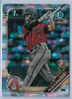 2019 Bowman Chrome Atomic Refractor Parallel 1st Bowman Blaze Alexander Arizona