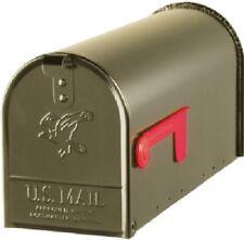 Solar Grp Elite Bronze Galvanized Standard Post Mount T1 Rural Mailbox E1100Bz0