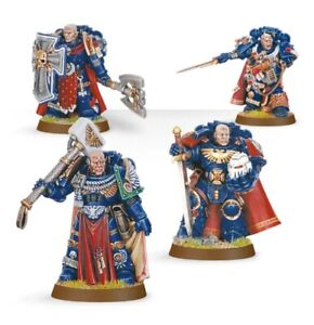 Warhammer 40k - Space Marines Chapter Master Commander Captain - Pick Your Own