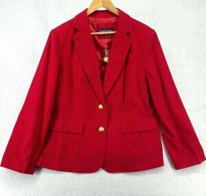 Chadwicks of Boston 16W Blazer Wool Blend NEW (W2422-J2)