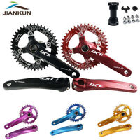 104BCD MTB Bike Crankse With BB Narrow Wide Chainring 170mm Crank BB 32-42T