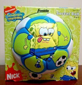 New Franklin Sports Nickelodeon SpongeBob Squarepants Patrick Size 3 Soccer Ball