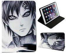 For Apple iPad Mini 1 2 3 4 Naruto Kakashi  Gaara Anime Folio Stand Case Cover