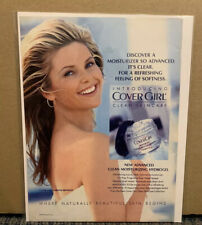 1993 COVER GIRL Print Ad Cover Girl CHRISTIE BRINKLEY Approximately 8 x 12 (P2)
