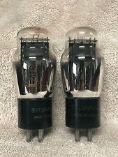 2 Sylvania #45 Vacuum Tubes