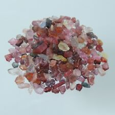 Lot 100-101.00ct sparkling lot rough top mixed spinel natural unheated 100% new