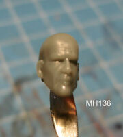 "MH136 Custom Cast head use w/3.75"" Star Wars GI Joe Acid Rain action figures"