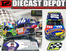 KYLE BUSCH 2017 NEW HAMPSHIRE WIN RACED VERSION M&M'S CARAMEL 1/24 ACTION