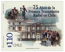 Chile 1997 #1878 75 años de la Primera Transmision Radial en Chile MNH