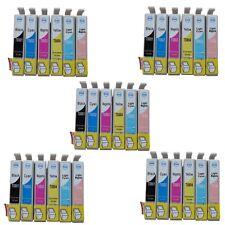35 x Druckerpatronen für Epson Stylus Photo P50 PX650 PX700W PX710W PX720WD