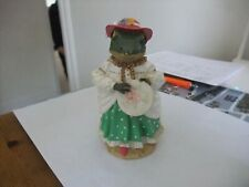 Lovely Tales Of Honeysuckle Hill Figurine Angelica Frog Regency Fine Arts 2002