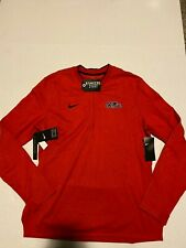 Mississippi Ole Miss Rebels Nike Dri-Fit Coaches 1/2 Zip Jacket Men's 3XL NWT