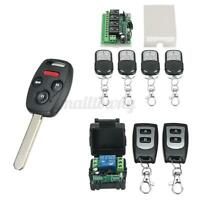 1/2/4CH 433MHz 12V Relay Wireless RF Remote Control Switch Transceiver  ☜