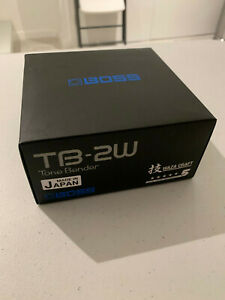 Boss TB-2W Tone Bender FUZZ Guitar Waza Craft Limited Edition NEW SOLD OUT
