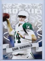 "SAM DARNOLD 2018 LEAF ""PRIZED"" ROOKIE CARD #16! USC TROJANS / NY JETS!"