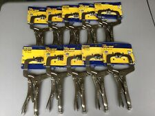 "10 NEW IRWIN 11"" VISE-GRIPS The Original 2X Longer Life 11SP Clamping #639G"