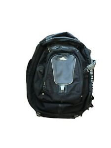High Sierra Black/Grey Travel Backpack - With Detachable Day Pack