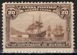 CANADA Scott 103 Mint Hinged ## 1 cent start ##