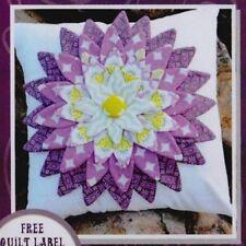 PATTERN - My Flower Petal cushion - pretty 3D applique pillow PATTERN