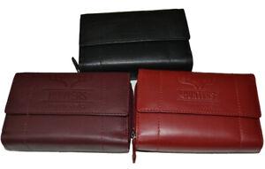 2013-GN Hunters Portemonnaie Geldbörse Geldbeutel echt Leder 12 Karten Neu