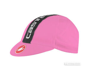 Castelli RETRO 3 Cycling Cap : GIRO PINK One Size