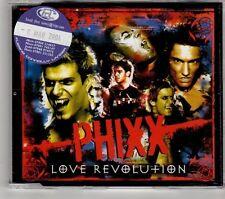 (GT617) Phixx, Love Revolution  - 2004 DJ CD