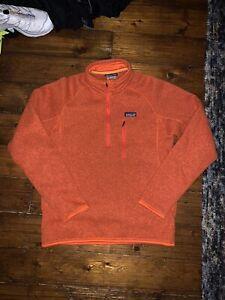 Patagonia Better Sweater Fleece Men Orange m