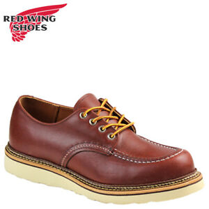 Red Wing 8099 Men's Work Oxford (Copper, Work Smith Leather, Traction Tred, USA)