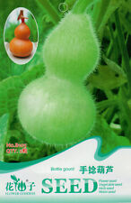 1 Pack 2 Mini Bottle Gourd Seeds Lagenaria Siceraria Organic B105