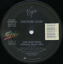 CULTURE CLUB the War Song (Ultimate Dance Mix) (1984 U.S. 3 Track 12inch)