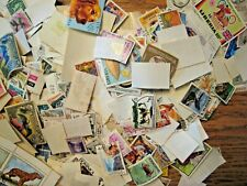 Box O Lot of World Postage Stamps off paper, un researched,  5.22 wt lbs Tare
