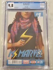 Ms. Marvel #1 2nd Second Printing CGC 9.8 Kamala Khan becomes Ms Marvel Disney+