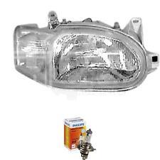 Scheinwerfer rechts Ford Escort V Bj. 95->> glasklar H4 inkl. PHILIPS Lampen CWY