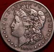 1890-CC Carson City Mint Silver Morgan Dollar