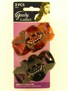 GOODY Classics Claw Clip Medium Spider To Create Your Favorite Styles  - 2 Count