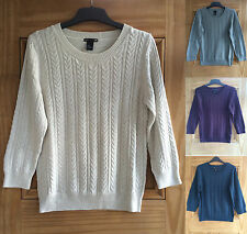 H&M Waist Length Acrylic Jumpers & Cardigans for Women