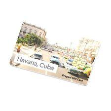 Cuba Prepaid Data SIM Card, use any Unlocked GSM phone + $9 Credit - 0.17 per MB