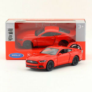 1:36 Scale 2015 Ford Mustang GT Model Car Diecast Toy Vehicle Pull Back Red