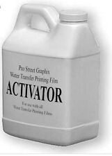 Activator formula for water transver printing