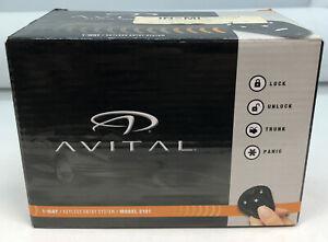 Avital Model 2181 1 Way Keyless Entry Car System 2 Remote Transmitter NEW