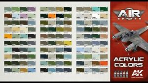 Ak Interactive AIR Series Acrylic Paints Full Range 17ml Combined Shipping
