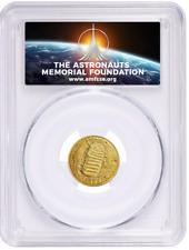 2019-W $5 Gold Coin Apollo 11 50th Anniversary PCGS First Strike MS70 AMF *LIVE*