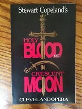 "Police Stewart Copeland rare Promo ""Holy Blood + Crescent Moon"" World Premiere"