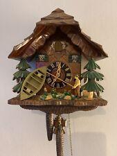 Black Forest 1 Day Fisherman Cuckoo Clock