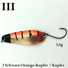 TROUT BAIT WASP der Highend Spoon by Zielfisch FARBCODE 47