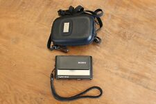 Sony Cyber-Shot DSC-T20 8.1MP Digital Camera - Black